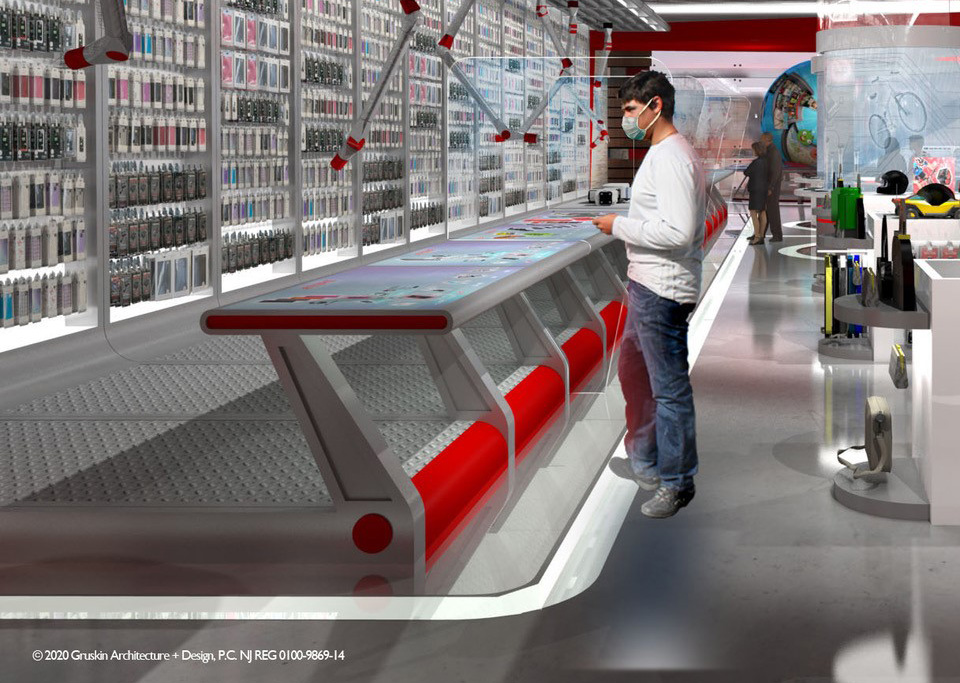 Concept Image: Intelligent Retail Interactive System (IRIS)