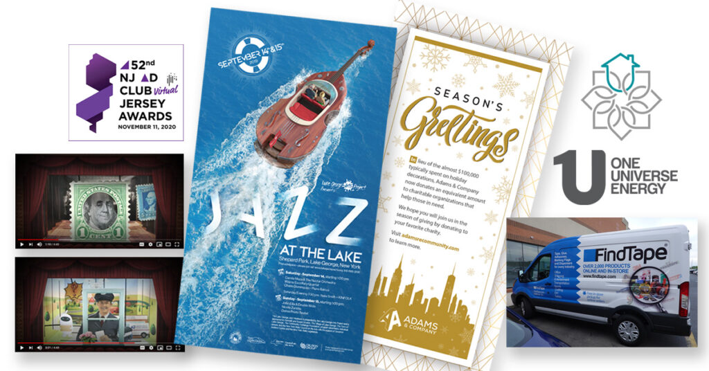 Gruskin Group and Gruskin Creative NJ Ad Club Award Winning Designs